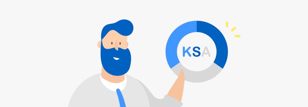 KSA – knowledge, skills, and abilities